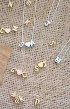 Sweetheart necklaces - look S❤J Cute Jewelry, Body Jewelry, Jewelry Box, Jewelry Accessories, Fashion Accessories, Fashion Jewelry, Jewelry Ideas, Silver Necklaces, Jewelry Necklaces