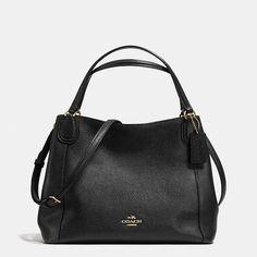 Coach Edie Shoulder Bag 28 in Pebble Leather