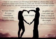 gary thomas citation votre mari a besoin de vous ellecroitcom bible - Verset Biblique Mariage