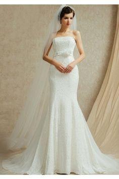 ウェディングドレス フラワー マーメイドライン 二次会 新婦 ドレス Halz0053