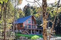 We're booking now at our brand new Premier Resort! Located near the famed #montremblant, north of Montreal, enjoy our beautiful, fully equipped luxury cottages! It's a winter paradise and a summer dream! More at www.clublacwalfred.com
