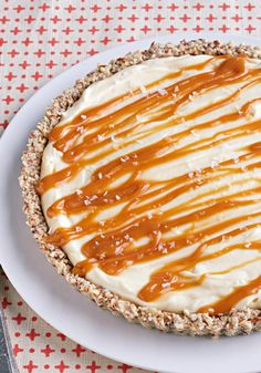 White Chocolate-Salted Caramel Tart – It takes less than a teaspoon of sea salt to bring out the sweetness of this swoon-worthy white chocolate and caramel dessert.