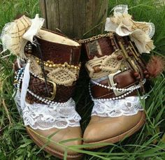 Could I do this to my boots?? Mhmm...