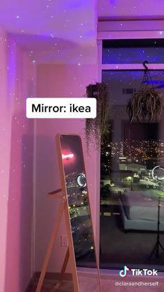 TikTok for Developers Neon Bedroom, Cute Bedroom Decor, Room Design Bedroom, Girl Bedroom Designs, Room Ideas Bedroom, Bedroom Inspo, Dorm Room Designs, Indie Room, Aesthetic Room Decor