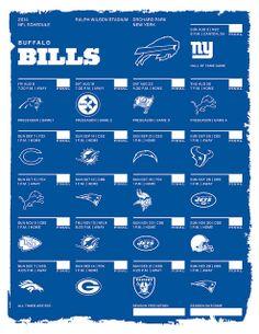 Buffalo Bills 2014 NFL Schedule