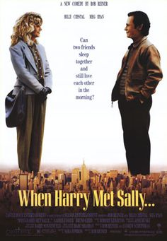 """""""When Harry Met Sally"""" -  Rob Reiner's touching, funny film set a new standard for romantic comedies, and he was ably abetted by the sharp interplay between Billy Crystal and Meg Ryan."""