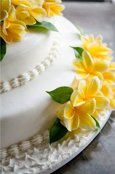 Bali Wedding Cake
