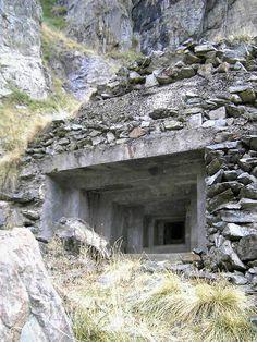 Abandoned Bunker in the Italian Alps