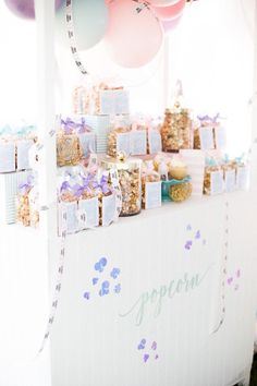 Popcorn Stand from a