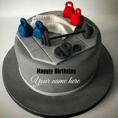Trendy Birthday Happy Cake Writing Ideas Source by . Birthday Cake For Brother, Birthday Cake Write Name, Friends Birthday Cake, Happy Birthday Wishes Cake, Special Birthday Cakes, Cake Name, Birthday Cakes For Men, Cake Birthday, Happy Birthday Cake Writing