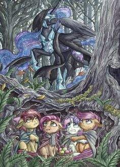 A Short Cut to Apples by The-Wizard-of-Art.deviantart.com on @DeviantArt