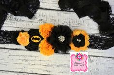 BatMan Maternity/Baby Shower Sash www.milaniJbowtique.com