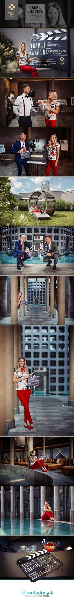 Im August 2019 erwarteten die Gäste der Therme Laa – Hotel & Silent Spa, einem Resort der VAMED Vitality World, Meisterwerke der Filmgeschichte. Laura Chaplin, Enkelin der einflussreichsten Stummfilmikone des alten Hollywoods, übernahm die Patronanz der Charlie Chaplin-Retrospektive.  Wir durften den Besuch von Laura Chaplin begleiten. Charlie Chaplin, Hollywood, Broadway Shows, Spa, Blog, Movie, History Of Film