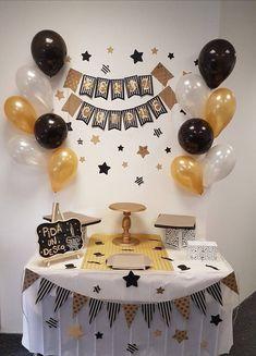 Birthday Surprise For Husband, Baby Boy 1st Birthday, Adult Birthday Party, Birthday Party Themes, Husband Birthday Decorations, Birthday Balloon Decorations, Birthday Balloons, Diy Party Decorations, Instagram