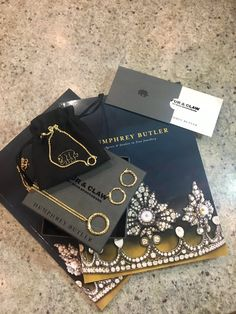 """I officially have the best sponsor ever @humphrey_butler ‼️THANK U 😄 Feel like Christmas has come early #furandclaw #humphreybutlerjewellery"""