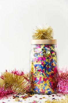 DIY Surprise Confetti Jars