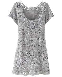 30b4ea3a683 Οι 24 καλύτερες εικόνες του πίνακα Πλεκτά φορέματα   Crochet ...