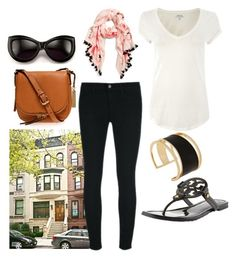 What To Wear When Touring NYC by fabafter40 on Polyvore featuring Polo Ralph Lauren, J Brand, Tory Burch, Vince Camuto, Rachel Zoe, Kate Spade, Wildfox and Central Park West