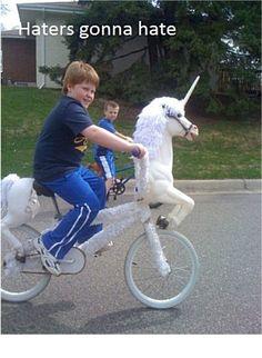 Keep riding through life smiling
