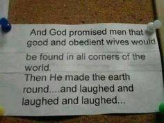 God promised - http://www.jokideo.com/
