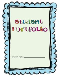 1000 images about student portfolios on pinterest student portfolios evernote and student. Black Bedroom Furniture Sets. Home Design Ideas
