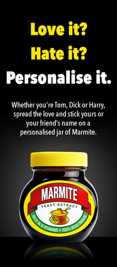 Keep everyone else's hands off yours with your very own personalised jar. What are you waiting for?