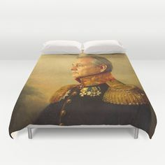 Buy ultra soft microfiber Duvet Covers featuring Bill Murray - replaceface by replaceface. Hand sewn and meticulously crafted, these lightweight Duvet Cover vividly feature your favorite designs with a soft white reverse side. $99 how halarious.  I'd put in guest room