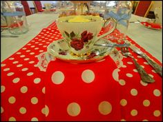 vintage tea party for a hen party: Vintage china table setting Tea Party Theme, Party Themes, Vintage China, Vintage Tea, Main Colors, Color Themes, Punch Bowls, 1950s, Table Settings