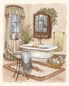 Sage Bath II (Jeriane Van Dijk)
