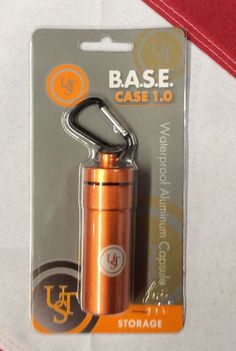 Base Case survival stash box bug out gear disaster pill container ORANGE Survival Equipment, Survival Gear, What Is Bug, Disaster Kits, Bug Out Gear, Earthquake Kits, 72 Hour Kits, Fire Extinguisher, Emergency Preparedness