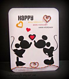 Kimberly's Crafty Spot: A Trendy Celebration Anniversary card