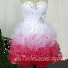 Colorful Sweetheart Homecoming Dresses,Beaded Short Prom Dresses http://21weddingdresses.storenvy.com/products/15750633-colorful-sweetheart-homecoming-dresses-beaded-short-prom-dresses