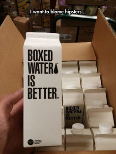 Now We Have Boxed Water