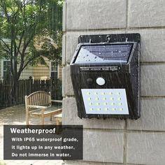 In Trend Mark 20led Body Sensing Intelligent Control Outdoor Waterproof Solar Power Pir Motion Sensor Wall Light Garden Lamp For Garden Yard Superior Quality