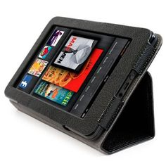 Amazon Kindle Fire Manhattan Grained Leather Portfolio Case w/Kickstand by Kroo (Black) by Kroo. $3.40. Kroo Manhattan Case for Amazon Kindle Fire Tablet PC - Black  Product Features: - Made Specifically for the Kindle Fire Tablet PC - Protects your Amazon Kindle Fire from scratches, dirt and bumps - Form-fitting sleeve ensures a precise fit - Designed for use at two different viewing angles - Simply slide the Kindle Fire in to the unique holder - Compact construction...