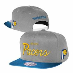 020ea9c6163 Indiana Pacers Mitchell and Ness NBA Two Tone Reflective Snapback Hat  (Gray) Indiana Pacers