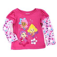 Bubble Guppies Girls Long Sleeve Tee (4T, Pink Molly Oona & Deema) Nickelodeon http://www.amazon.com/dp/B01638UIU4/ref=cm_sw_r_pi_dp_NG5Uwb1S16APH