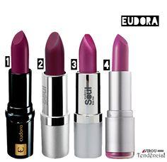 Batom Roxo, Batom Lilás ou Batom Violeta da Eudora  http://viroutendencia.com/2014/09/28/opcoes-baratinhas-de-batons-roxo-lilas-ou-violeta-%E2%99%A5-parte1/