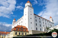 #vamoskigo | Bratislava Castle | Bratislava, Slovakia | Found on a hill in the center of Bratislava, this dominating castle sits above the Danube River, providing panoramic views of the city.