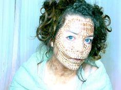 American Horror Story-The Astounding Lizard Girl Makeup - YouTube