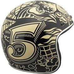 Margaret's helmet