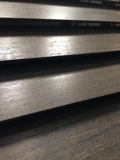 New wood species offered for the Parkland Wood Blinds from Hunter Douglas.