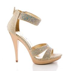 Abyss08 Champagne Shimmering Rhinestone Studded Strappy Stiletto Heel Dress Sandals-5.5 Sully's http://www.amazon.com/dp/B00WBZS342/ref=cm_sw_r_pi_dp_3bVvvb1N806PB