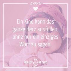 Es ist einfach Liebe.  Mehr schöne Sprüche auf: www.mutterherzen.de  #herz #liebe #mutterherz #mutter #mütter #baby #kind #kinder