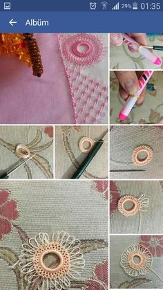 Needle Lace The moment Ifirst laid eyes on oya needlework was not as profound as one might imagine. Bead Embroidery Jewelry, Ribbon Embroidery, Embroidery Stitches, Embroidery Patterns, Needle Tatting, Tatting Lace, Needle Lace, Hairpin Lace Crochet, Crochet Doilies