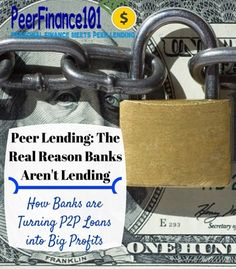 The real reason banks aren't lending and how you can follow their lead to make money. Peer lending is surging as a new investment with the return of stocks and the safety of bonds.