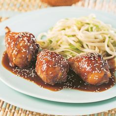 Pilons de poulet, sauce Général Tao - Soupers de semaine - Recettes 5-15 - Recettes express 5/15 - Pratico Pratique Ranch Chicken Recipes, Pesto Chicken, Sauce General Tao, Asian Recipes, Ethnic Recipes, Chicken Drumsticks, Cooking Black Beans, Breast Recipe, Vegetable Dishes