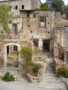 Spinalonga, Crete Island, Greece