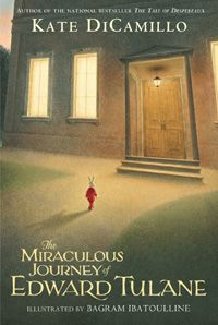 The Miraculous Journey of Edward Tulane...one of THE best books ever.  I read it to my fourth grade class a few years ago, they loved it and we all cried together!