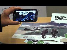 Präsentieren mit Augmented Reality – Der neue Tohatsu Katalog 2015 von Volvo Penta - YouTube Augmented Virtual Reality, Web Development, Volvo, Coding, Youtube, Catalog, Youtubers, Programming, Youtube Movies
